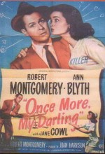 Once More, My Darling (1949) afişi