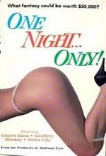 One Night Only (1986) afişi