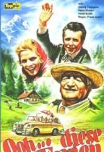 Ooh... Diese Ferien (1958) afişi