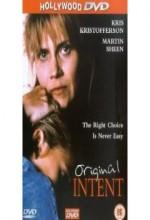 Original Intent (1992) afişi