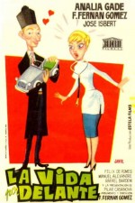 Önündeki Yaşam (1958) afişi