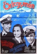 örlogsmän (1943) afişi