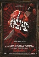Paris I'll Kill You  afişi