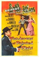 Plunderers Of Painted Flats (1959) afişi