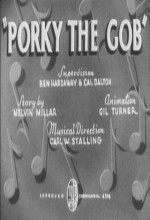 Porky The Gob (1938) afişi