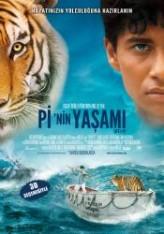 Pi'nin Yaşamı (2012) afişi
