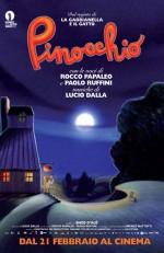 Pinocchio (2012) afişi
