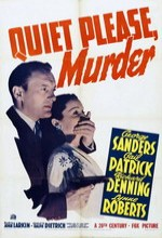 Quiet Please: Murder (1942) afişi