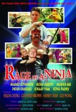Rage Of Ninja (1988) afişi
