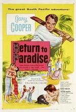 Return To Paradise (1953) afişi