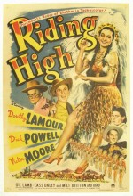 Riding High (1943) afişi