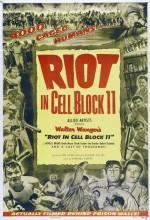 Riot in Cell Block 11 (1954) afişi