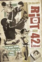 Riot On 42nd St. (1987) afişi