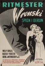 Rittmeister Wronski (1954) afişi
