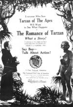 Romantik Tarzan (1918) afişi