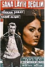 Sana Layık Değilim (1965) afişi