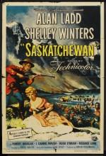 Saskatchewan (1954) afişi