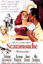 Scaramouche (1952) afişi