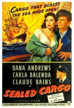 Sealed Cargo (1951) afişi
