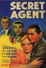 Secret Agent (1936) afişi