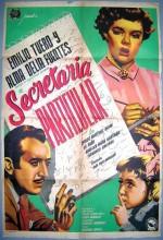 Secretaria Particular (1952) afişi