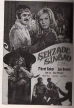 Şehzade Sinbad Kaf Dağında (1971) afişi