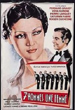 Sept Hommes, Une Femme (1936) afişi