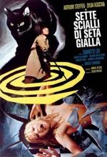 Sette Scialli Di Seta Gialla (1972) afişi
