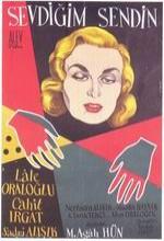 Sevdiğim Sendin (1955) afişi