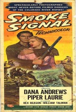 Smoke Signal (1955) afişi