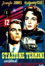 Stazione Termini (1953) afişi