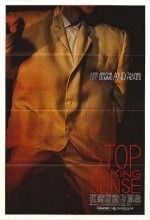 Stop Making Sense (1984) afişi
