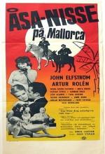 Åsa-nisse På Mallorca (1962) afişi
