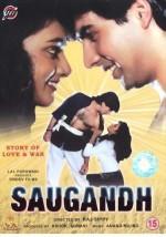 Saugandh (1991) afişi