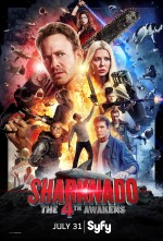Sharknado 4: The 4th Awakens (2016) afişi