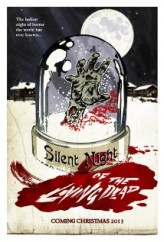 Silent Night of the Living Dead (2013) afişi