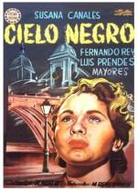 Siyah Gökyüzü (1951) afişi