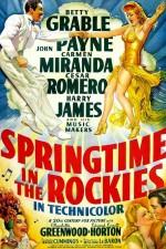 Springtime In The Rockies (1942) afişi