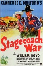 Stagecoach War (1940) afişi