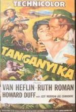 Tanganyika (1954) afişi