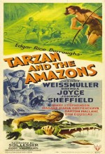 Tarzan And The Amazons (1945) afişi