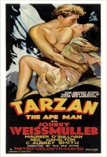 Tarzan The Ape Man (1932) afişi