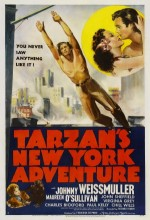 Tarzan's New York Adventure (1942) afişi