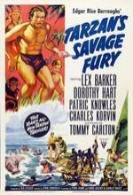 Tarzan's Savage Fury (1952) afişi