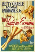 That Lady In Ermine (1948) afişi