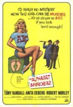 The Alphabet Murders (1965) afişi