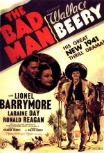 The Bad Man (1941) afişi