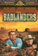 The Badlanders (1958) afişi