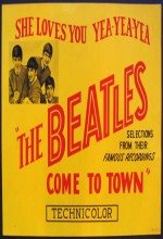 The Beatles Come To Town (1963) afişi