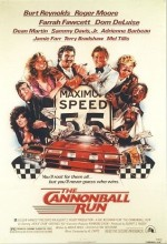 The Cannonball Run (1981) afişi